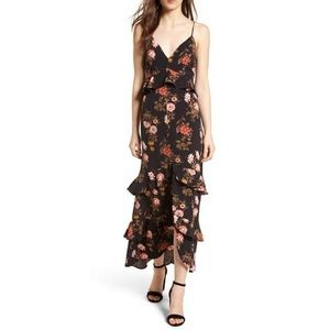 NWOT Nordstrom Lush Tiered Maxi Dress
